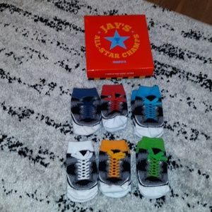 Baby infant (size 0-12 m) Trumpette socks, 6 pairs